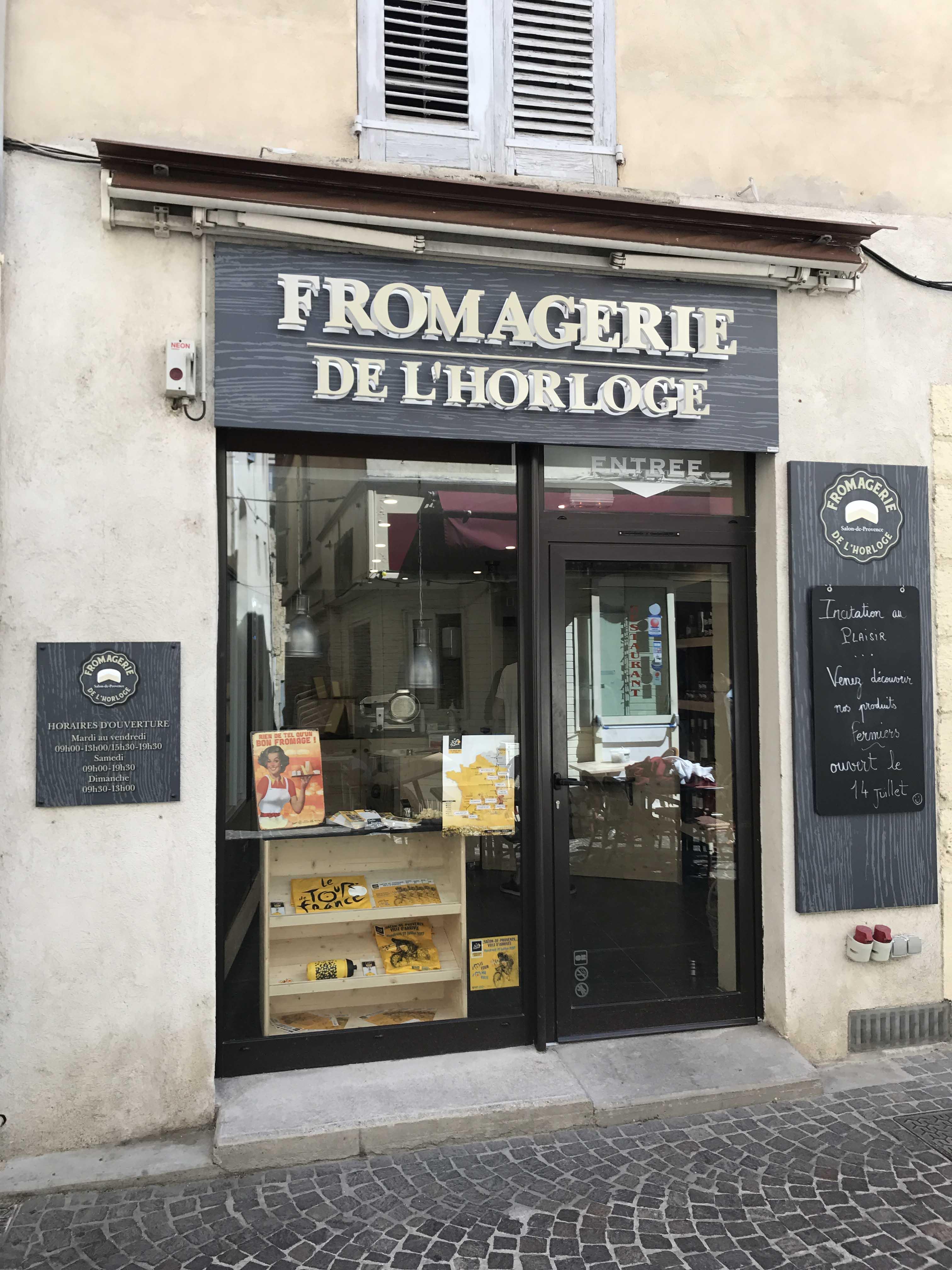 Fromagerie salon de provence fromagerie de l 39 horloge for Patrick pneu salon de provence